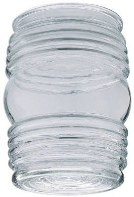 (Westinghouse 8561700 Clear Porch Light Glass Globe Shade)