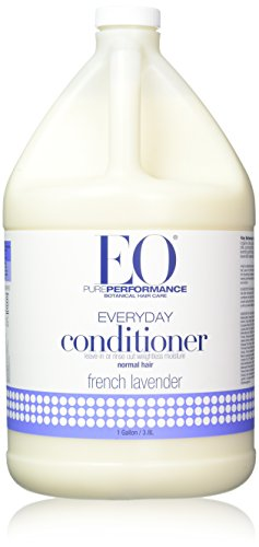 EO Pure Performance Botanical Conditioner, Everyday Leave-in or Rinse, French Lavender, 128 Ounce (1 gallon)