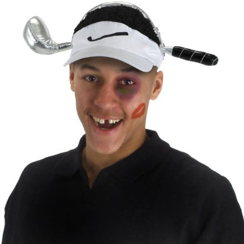 Elope Cheetah Woods Visor (Funny Golf Hat)