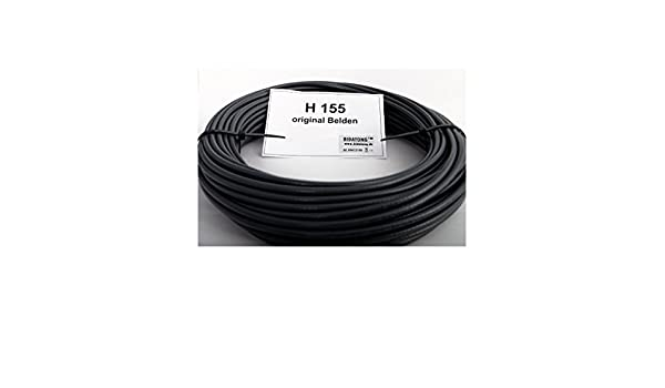 Bidatong – 10 M Pack: Cable Coaxial Belden H de 155 Low Loss rollo de 50 Ohm – 10 M – Precio Base 1,49 Euro/m: Amazon.es: Electrónica