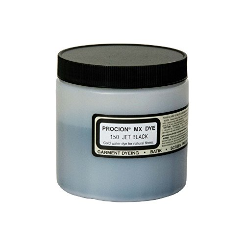 Procion Mx Dye Jet Black 8Oz (Dye Dye Fabric Tie)