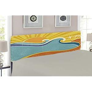 41BCPzrGlxL._SS300_ Beach Headboards & Coastal Headboards