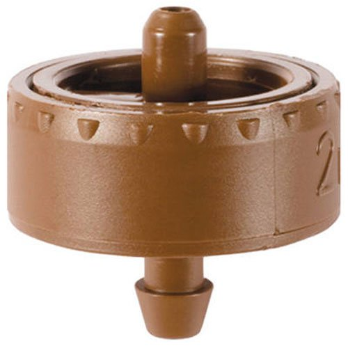 Dig W2205A .5 GPH Button Irrigation Dripper (25 Pack), Brown by Dig