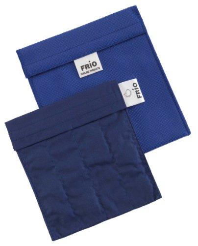 Frio - Borsa isotermica per mantenere l'insulina, blu, 14 x 15 cm