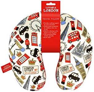 Elgate Lovable London Travel Neck Pillow