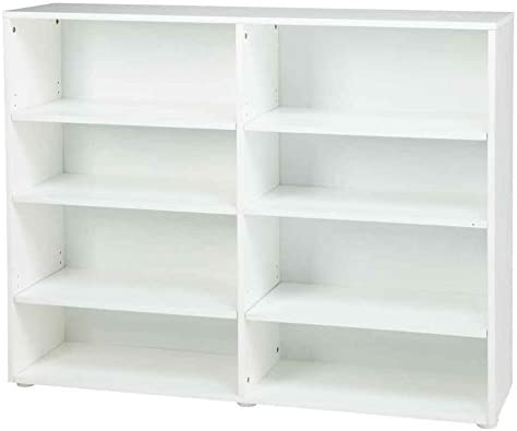 Kids Wooden Bookcase w 8 Shelves