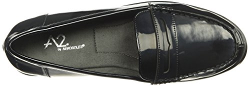 Aerosoles A2 by Women's Side Dish Slip-on Loafer Black Patent CEM5F