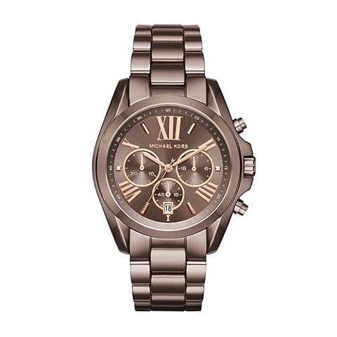 Michael Kors Women's Bradshaw Brown Watch MK6247 (Michael Kors Bradshaw Watch 43mm)
