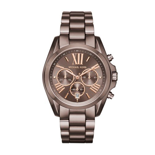 Michael Kors Women's Bradshaw Brown Watch - Michael Kors Oversized