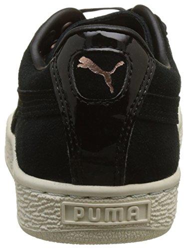 VR Donna Black black Basse Nero Ginnastica Puma da XL Suede Scarpe Lace 88fTZwx