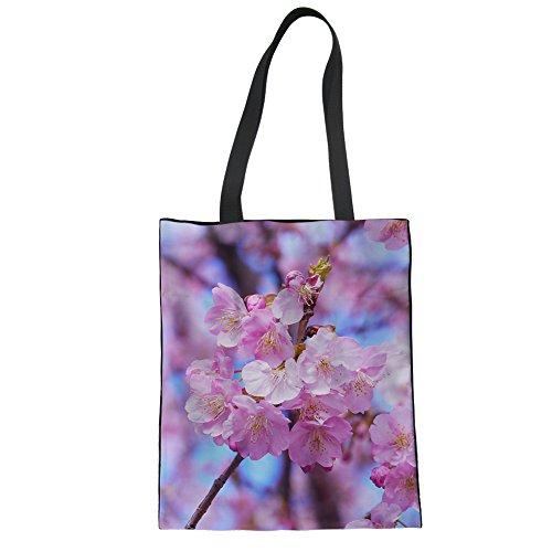 Showudesigns CC3460Z22 - Bolso de asas para mujer multicolor Talla Unica flower 8