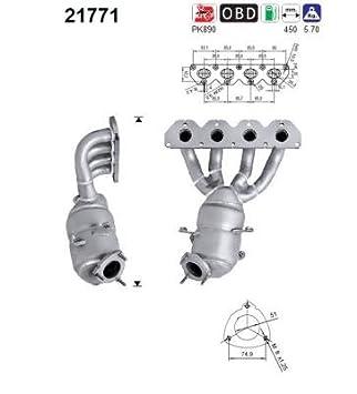 Katalysator f/ür Opel Katalysator u.a Preishammer Abgasanlage