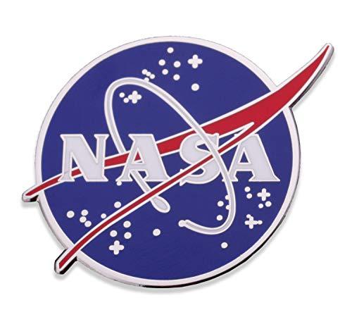 NASA Logo Enamel Lapel Pin - NASA Hat Pin - Hard Enamel Official Logo of National Aeronautics & Space Administration Pin - Veteran Owned Company!
