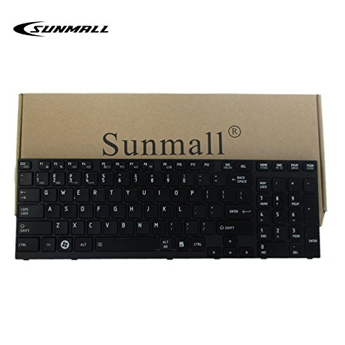 P755 Keyboard Replacement, SUNMALL Laptop keyboard Replacement for Toshiba Satellite P750 P750D P755 p755-s5320 P770 P770D P775 p775-s7215 Qosmio X770 X775 Series US Layout (6 Months Warranty)
