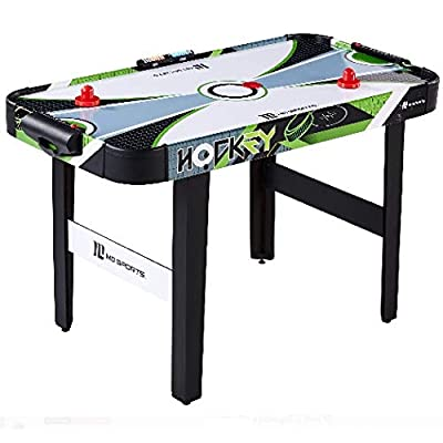 MD Sports 48 Inch Air Powered Hockey Table with LED Electronic Scorer : Sports & Outdoors