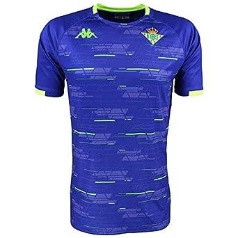 45e351e0be81 Camiseta de entrenamiento - Real Betis Balompié 2018/2019 - Kappa Aboupre 2  Jersey - Azul - Adulto