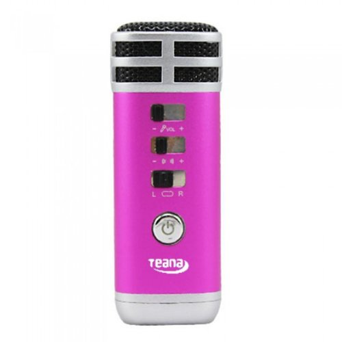 NEWSKY 3.5mm Mini Pocket Microphone Karaoke Player Home KTV For PC/Phone/MP4/MP3 Rose from New Sky Enterprises