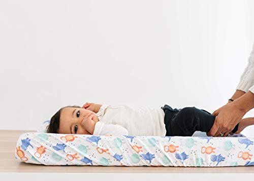 """Premium Knit Diaper Changing Pad Cover""""Max"""" by Copper Pearl"""
