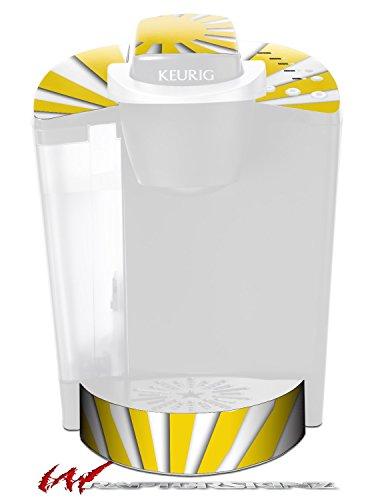 Rising Sun Japanese Yellow - Decal Style Vinyl Skin fits Keurig K40 Elite Coffee Makers (KEURIG NOT INCLUDED) by WraptorSkinz