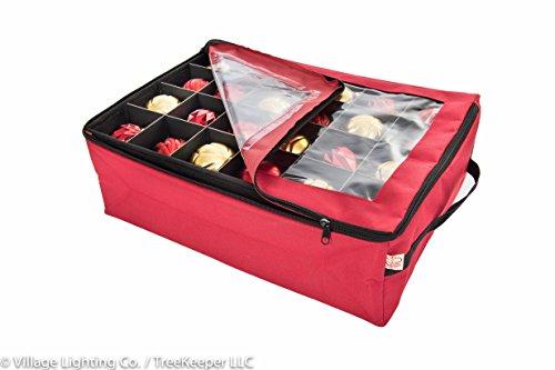 Santas Bags Ornament Storage Bag, with 2 Trays by Santas Bags