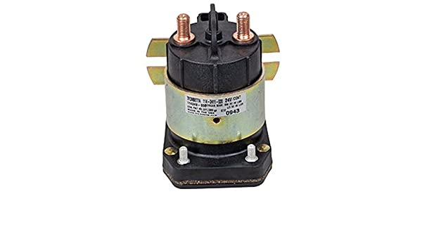 Amazon.com: OEM TROMBETTA SOLENOID 114-2411-020 24 Volt 225 AMP CONTINUOUS DUTY 600 Inrush: Automotive