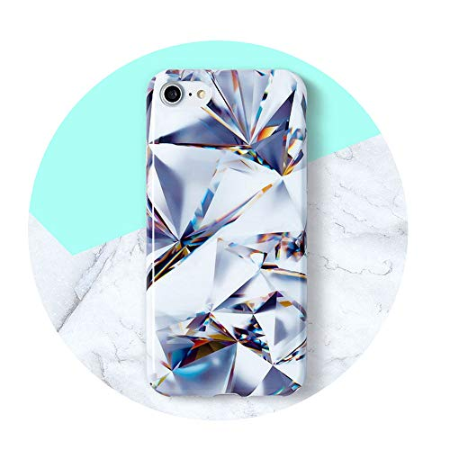 (Case Glossy Soft Back Cover for iPhone Diamond for iPhone 6)