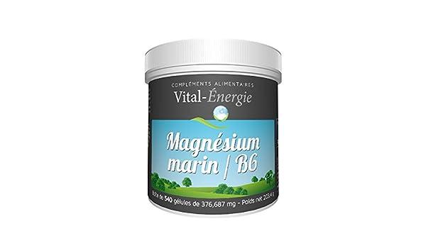 vital-energie magnesio Marino 540 Cápsulas: Amazon.es: Salud y cuidado personal