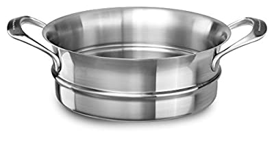 KitchenAid KC2C80SIST 18/10 Steamer Insert, Stainless Steel Finish, Medium