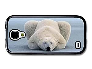 Lazy & Sleepy Polar Bear case for Samsung Galaxy S4 mini A3471 by icecream design
