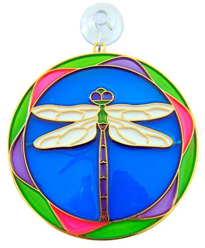 Westman Works Dragonfly Insect Colorful Suncatcher Window Ornament Sun Catcher Home Decoration