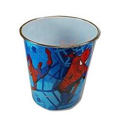 1 X Spiderman Plastic Trash Can