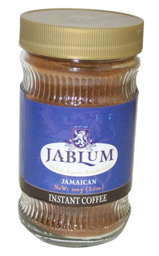 Jablum Instant Coffee, 6 pack of 3.5 oz jars (Blue Mountain Coffee Instant compare prices)