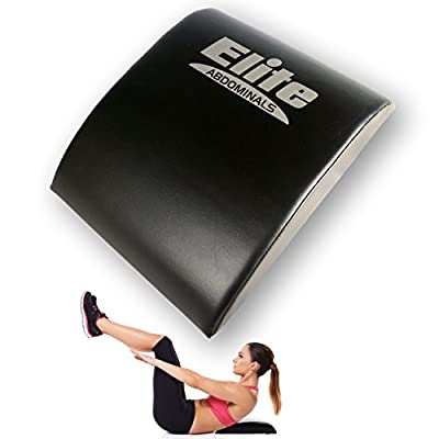 Elite Sportz Abdominal Sit Up Pad and Gives Great Lower Back Support, Helping to Remove All The Strain, Making Sit Ups Easy - Bonus Resistance Band Included