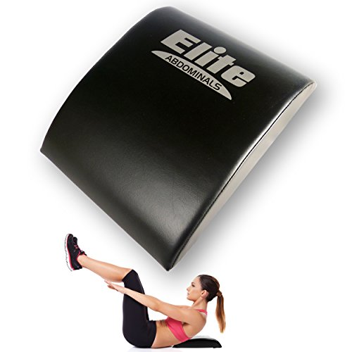 Elite Sportz Abdominal Sit Up Pad and Gives Great Lower Back Support, Helping to Remove all the Strain, Making Sit Ups Easy - Bonus Resistance Band Included by Elite Sportz Equipment