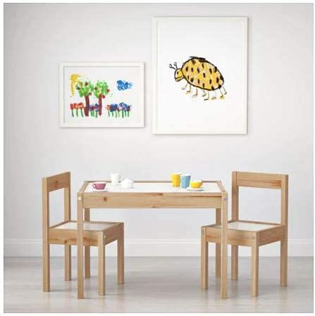 IKEA Children's Kids Table & 2 Chairs Set Furniture