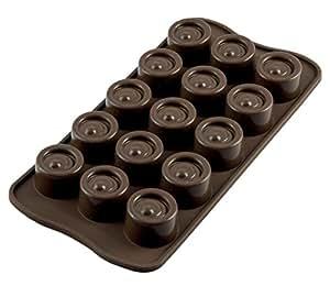 Scg04 molde de silicona para chocolatines vertigo color - Moldes silicona amazon ...