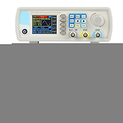 Furnoor JDS6600 DDS Signal Generator Counter Digital Control Sine Frequency AC100-240V Durable(U.S. regulations 40HZ)