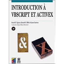 introduction a vbscript et activex (avec cd-rom)