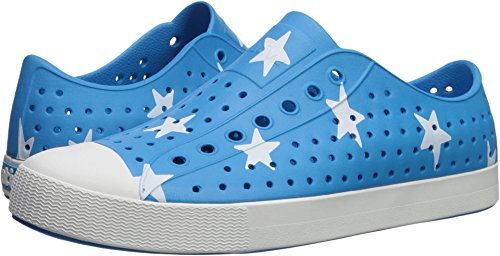 Native Shoes Jefferson Water Shoe, Wave Blue/Bone White/Big Star, 3 Men's (5 B US Women's) M US