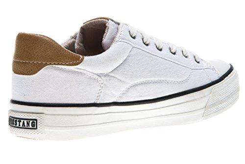1272 Sneaker Damen Weiß 1 301 101 Weiß Mustang qpAz5Ixp