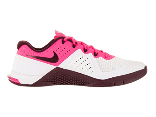 Weiß Damen Pink Metcon 2 Trainingsschuhe Maroon Night 821913 106 White Nike Black Blast UwBYqEEA
