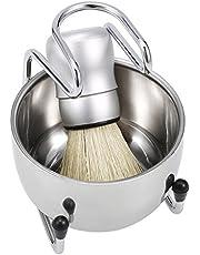 3'ü 1 Arada Erkek Seti Fırçası + Standı + Porsuk Saç için Sabunluk Erkek Seti MAYIO