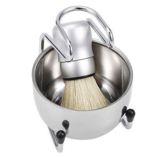 Anself 3 in 1 Men's Shaving Set for Badger Hair Cleaning
