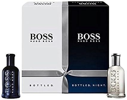 961d2ffb6ccf HUGO BOSS Perfume 2 Piezas Hugo Boss Bottled + Bottled Night  Amazon ...