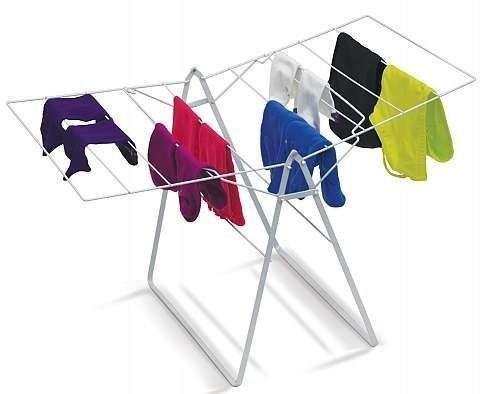 IdeaWork Foldable Drying Rack Laundry Folding Hanger Dry Dry