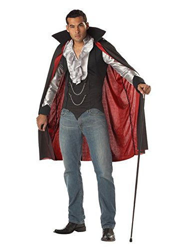 Halloween Costume Vampire Woman (California Costumes Men's Very Cool Vampire Costume,)