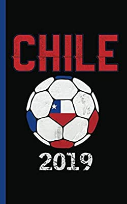 """Chile Flag Soccer Ball Journal - Notebook: Patriotic Chilean DIY Writing Note Book - 100 Lined Pages + 8 Blank Sheets, Small Travel Size 5x8"""" (Soccer Gear Gifts Soccer Gear Gifts Vol 6)"""