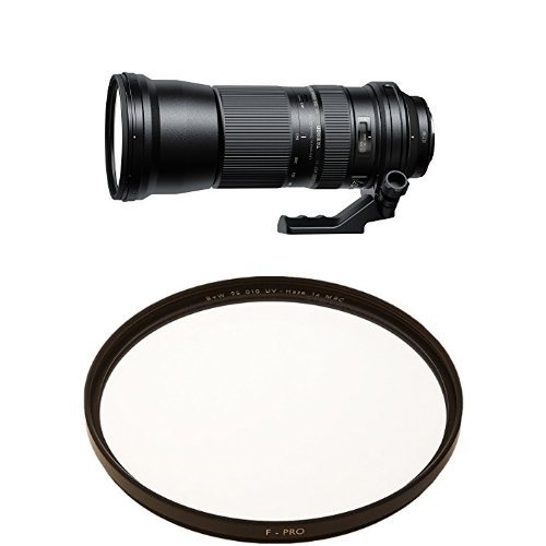 Tamron SP 150-600mm F/5-6.3 Di VC USD for Canon DSLR Cameras with 95mm Clear UV Haze with Multi-Resistant Coating (010M)