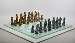 Skeleton Battle of Underworld Chess Set 383