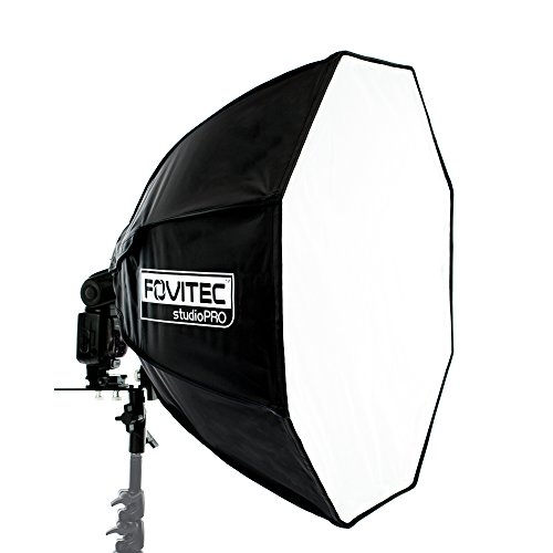 "Fovitec StudioPRO - 24 Inch EZ Pro Octagon Softbox Flash Speedlight - [24"" Diameter][Softbox, Mount, and Sleeve Included Only]"